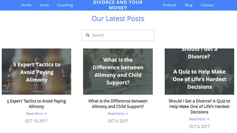 Divorce blogs